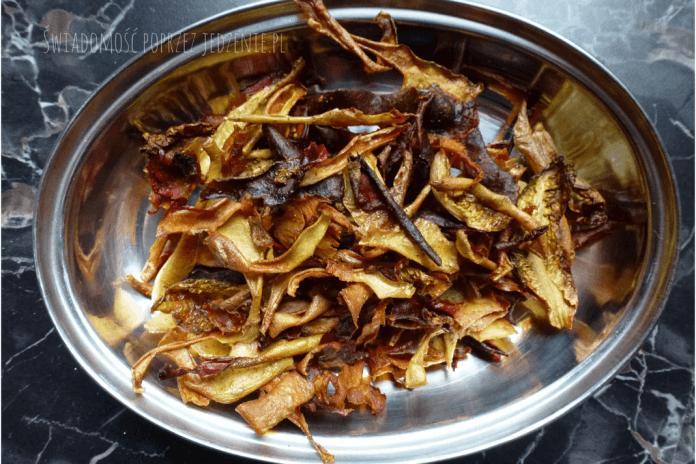 Zdrowe chipsy