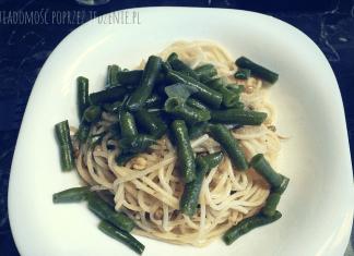Spaghetti z kiełkami